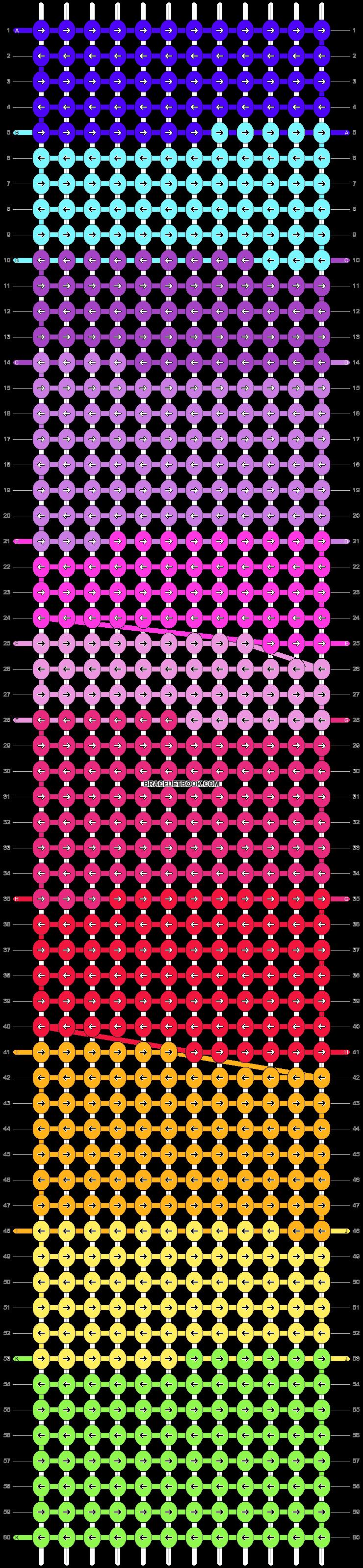 Alpha pattern #14300 pattern