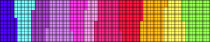 Alpha pattern #14300