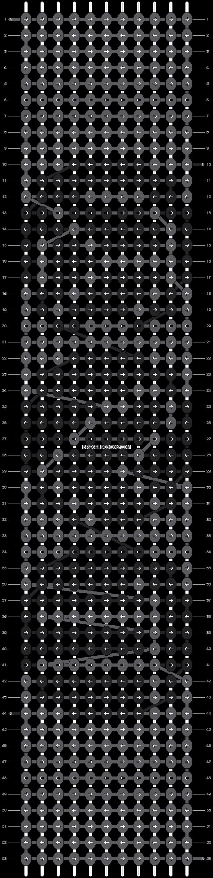 Alpha pattern #14304 pattern