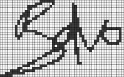 Alpha pattern #14305