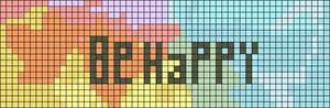 Alpha pattern #14307