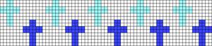 Alpha pattern #14308