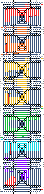 Alpha pattern #14309 pattern