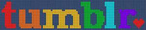Alpha Friendship Bracelet Pattern #14309