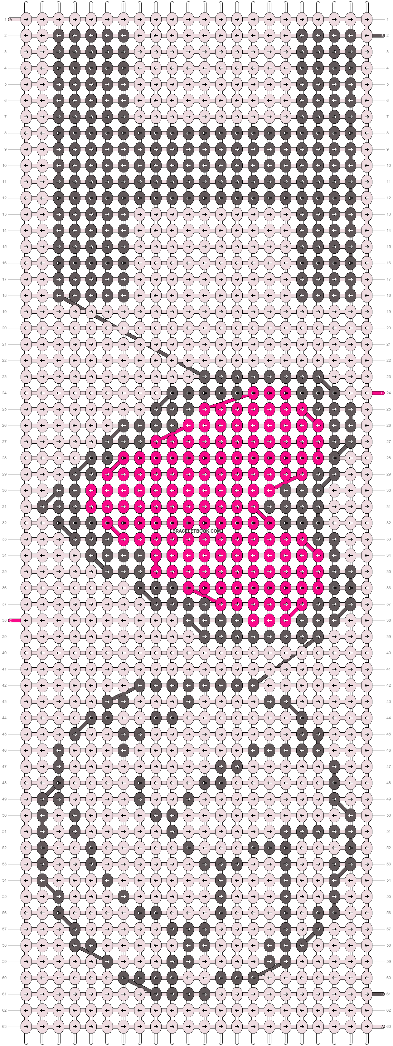 Alpha pattern #14316 pattern