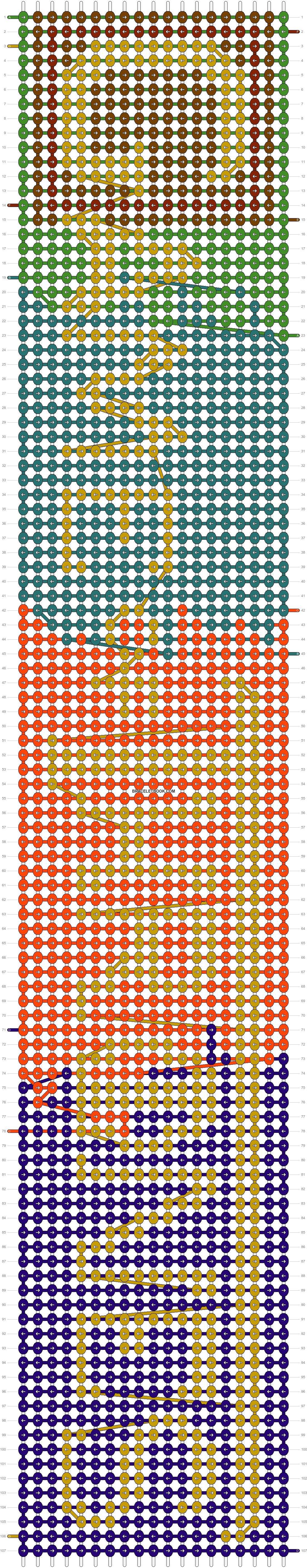 Alpha pattern #14323 pattern