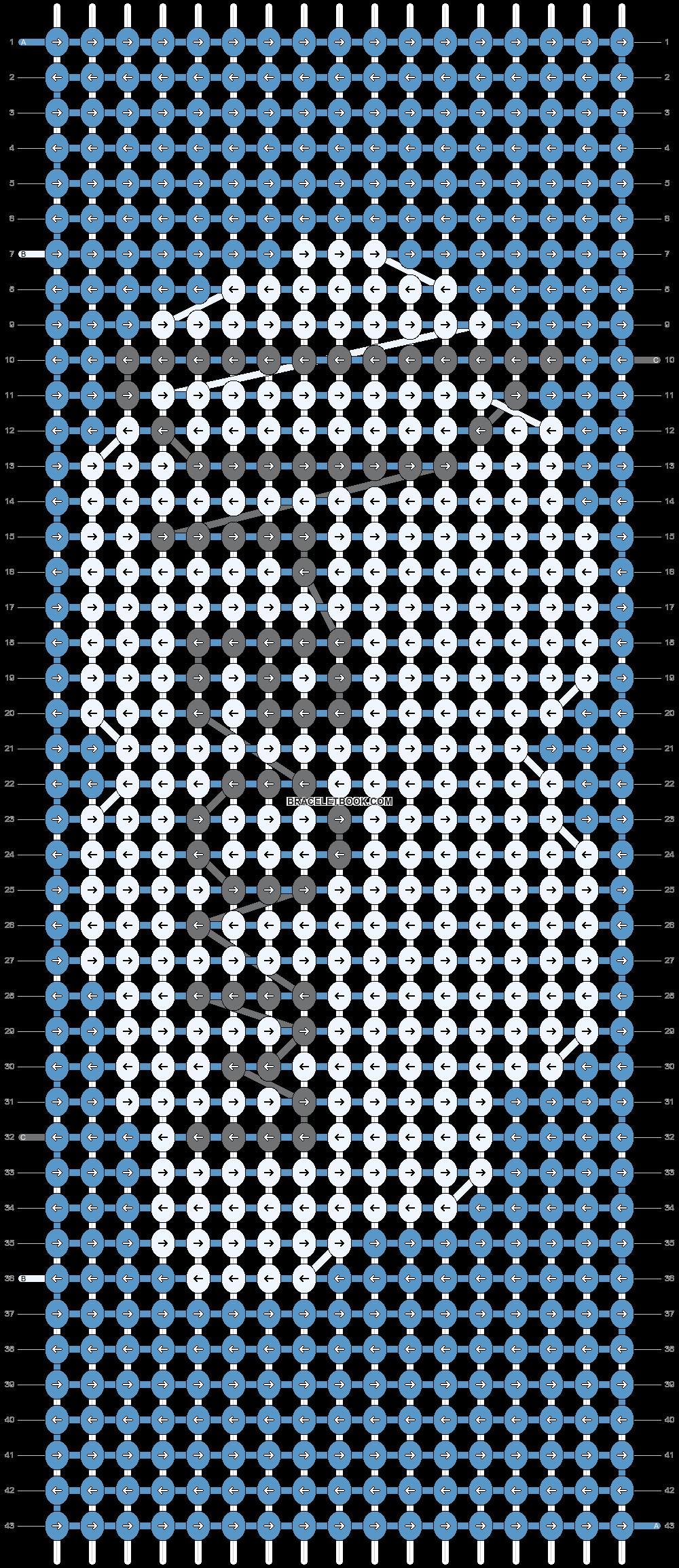 Alpha pattern #14326 pattern