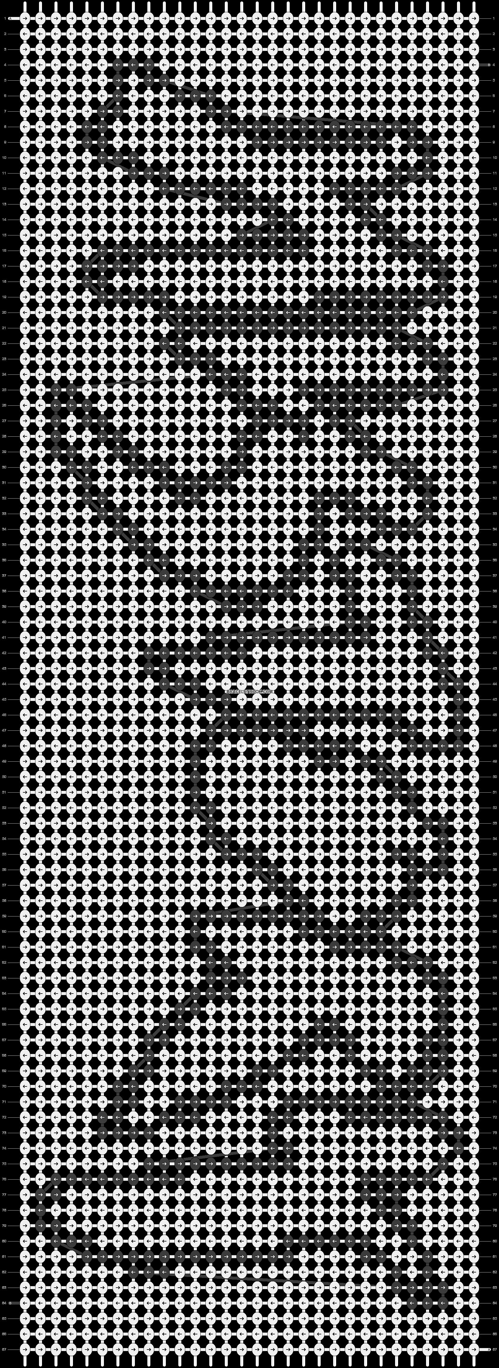 Alpha pattern #14327 pattern