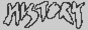 Alpha Friendship Bracelet Pattern #14327