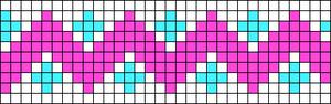 Alpha Friendship Bracelet Pattern #14330