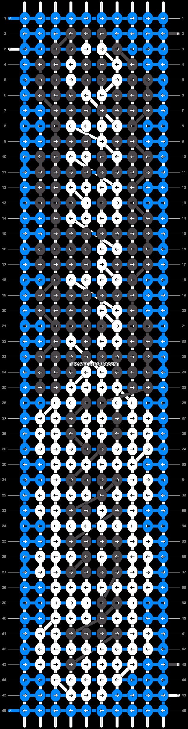 Alpha pattern #14331 pattern