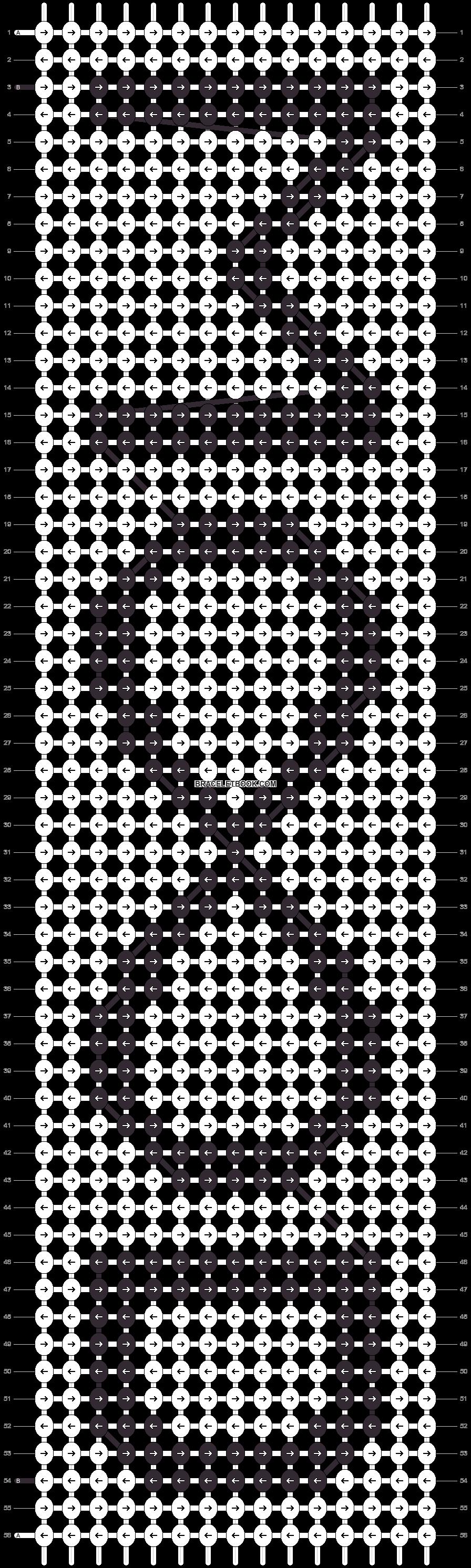 Alpha pattern #14338 pattern