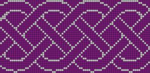 Alpha Friendship Bracelet Pattern #14339