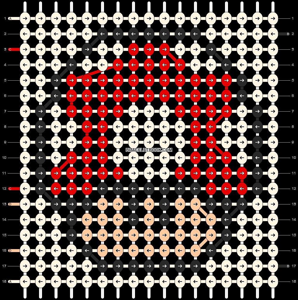 Alpha pattern #14349 pattern