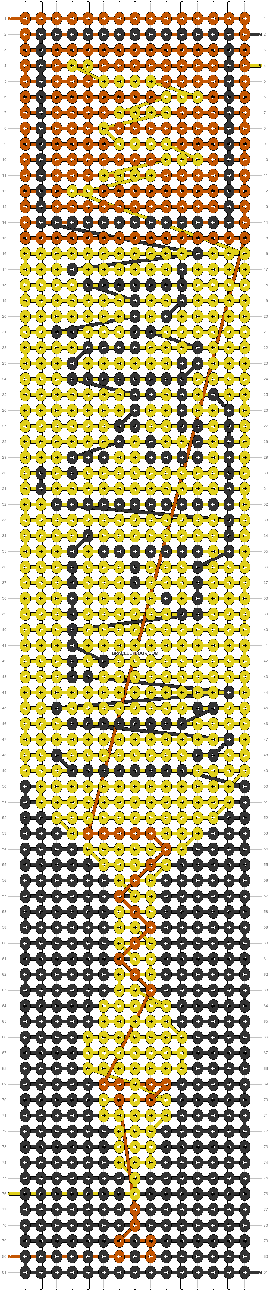 Alpha pattern #14353 pattern