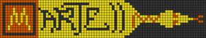 Alpha pattern #14353