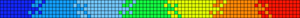 Alpha Friendship Bracelet Pattern #14357