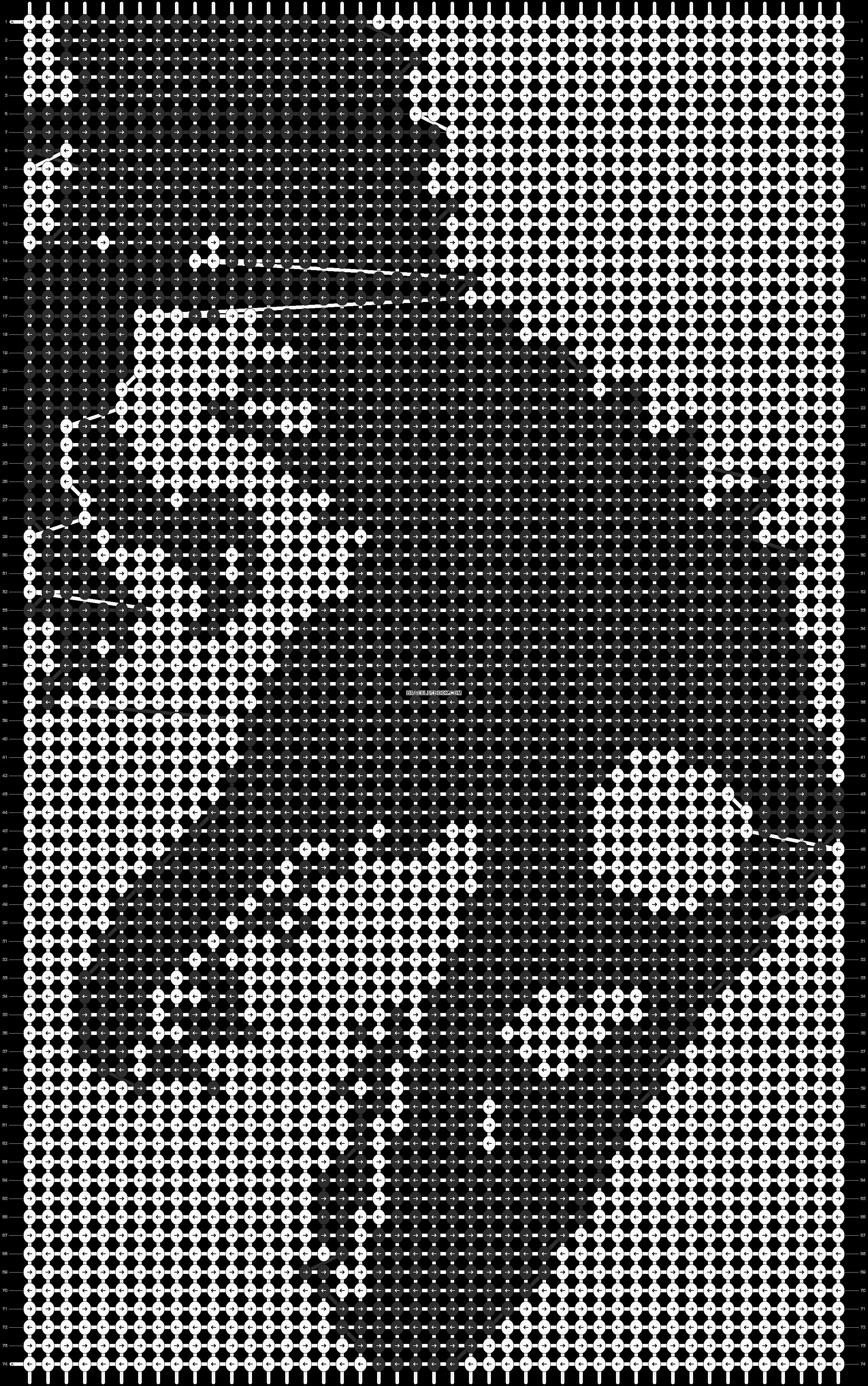 Alpha pattern #14361 pattern