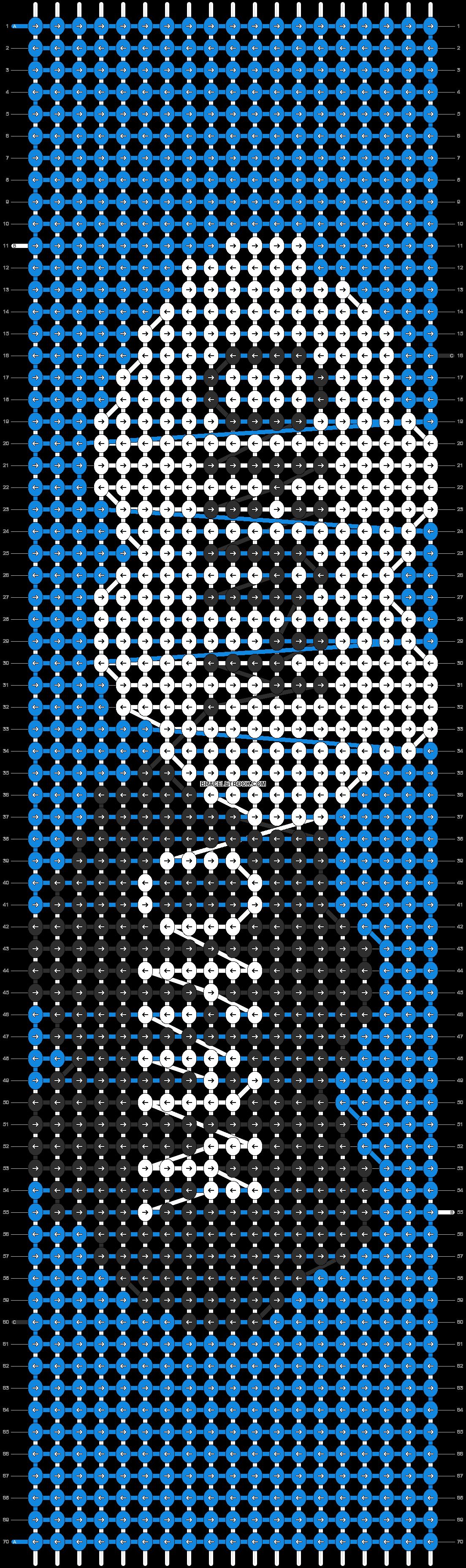 Alpha pattern #14363 pattern