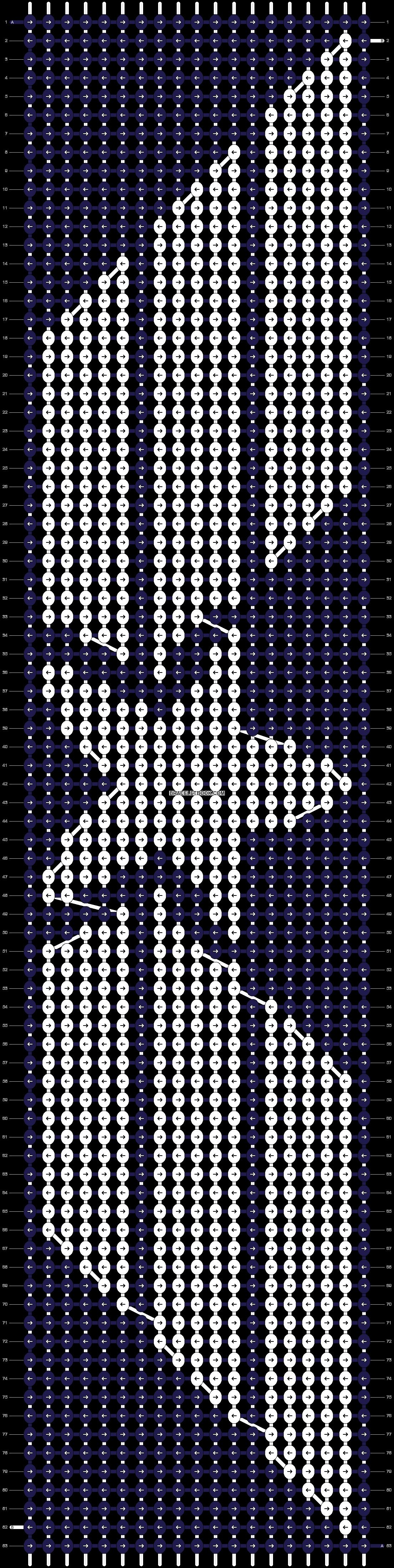 Alpha pattern #14364 pattern