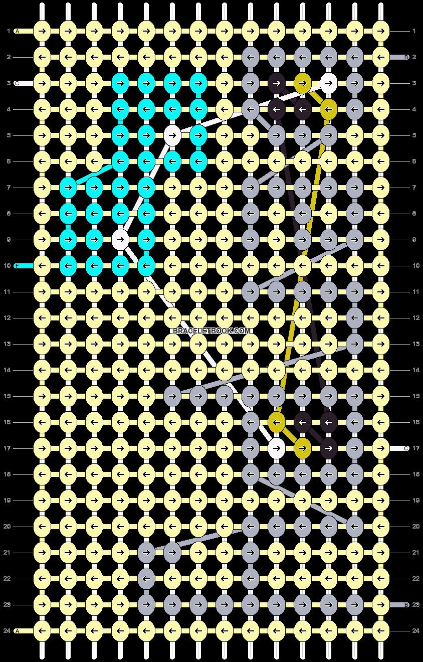 Alpha pattern #14365 pattern