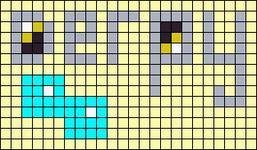 Alpha pattern #14365