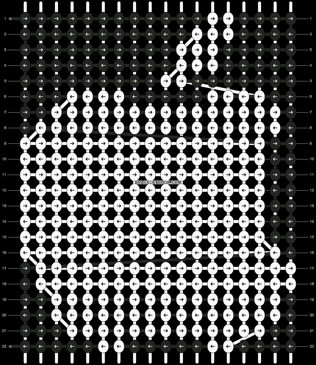 Alpha pattern #14368 pattern