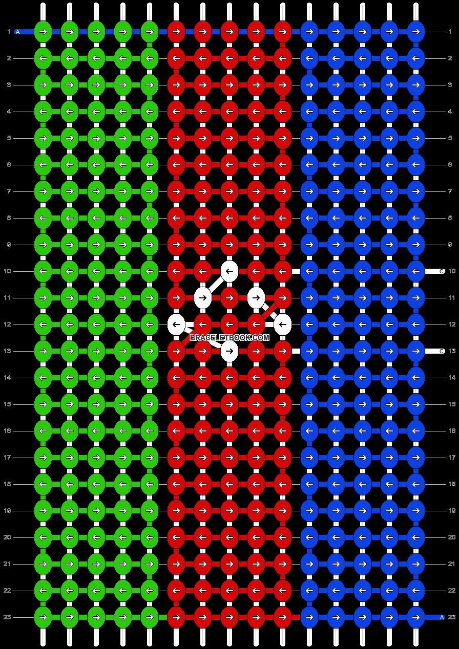 Alpha pattern #14379 pattern