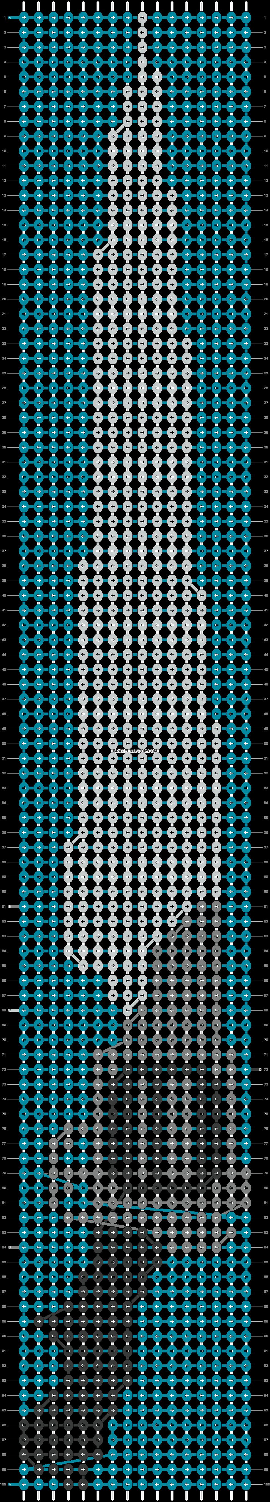 Alpha pattern #14380 pattern
