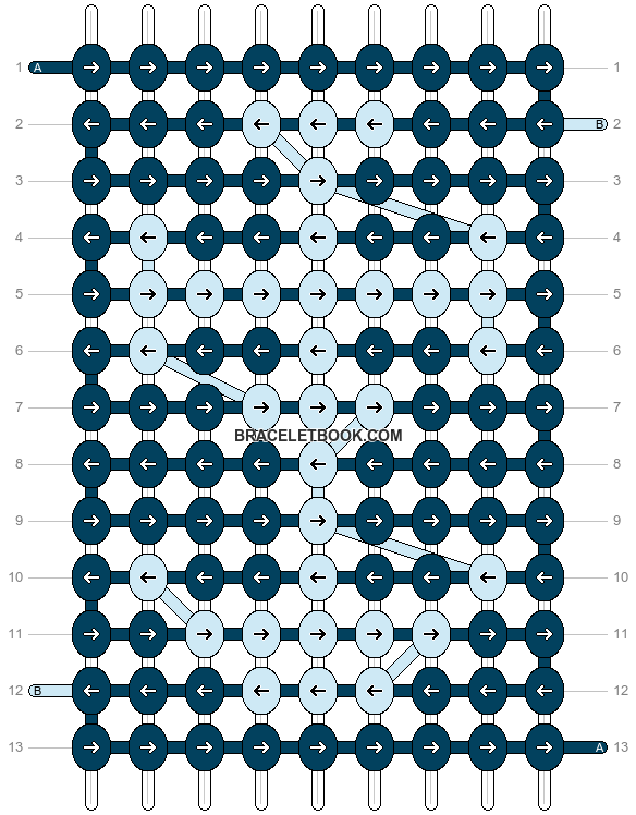 Alpha pattern #14384 pattern