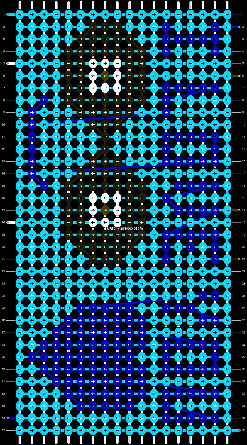 Alpha pattern #14385 pattern