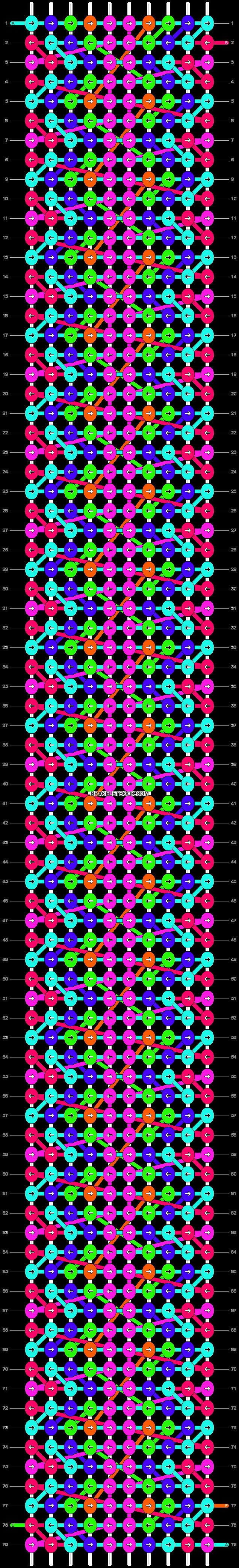 Alpha pattern #14387 pattern