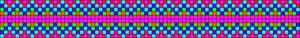 Alpha Friendship Bracelet Pattern #14387