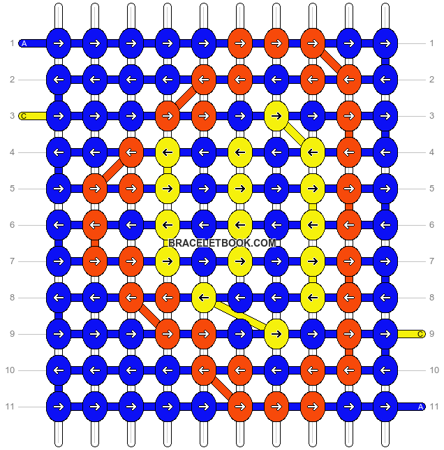 Alpha pattern #14402 pattern