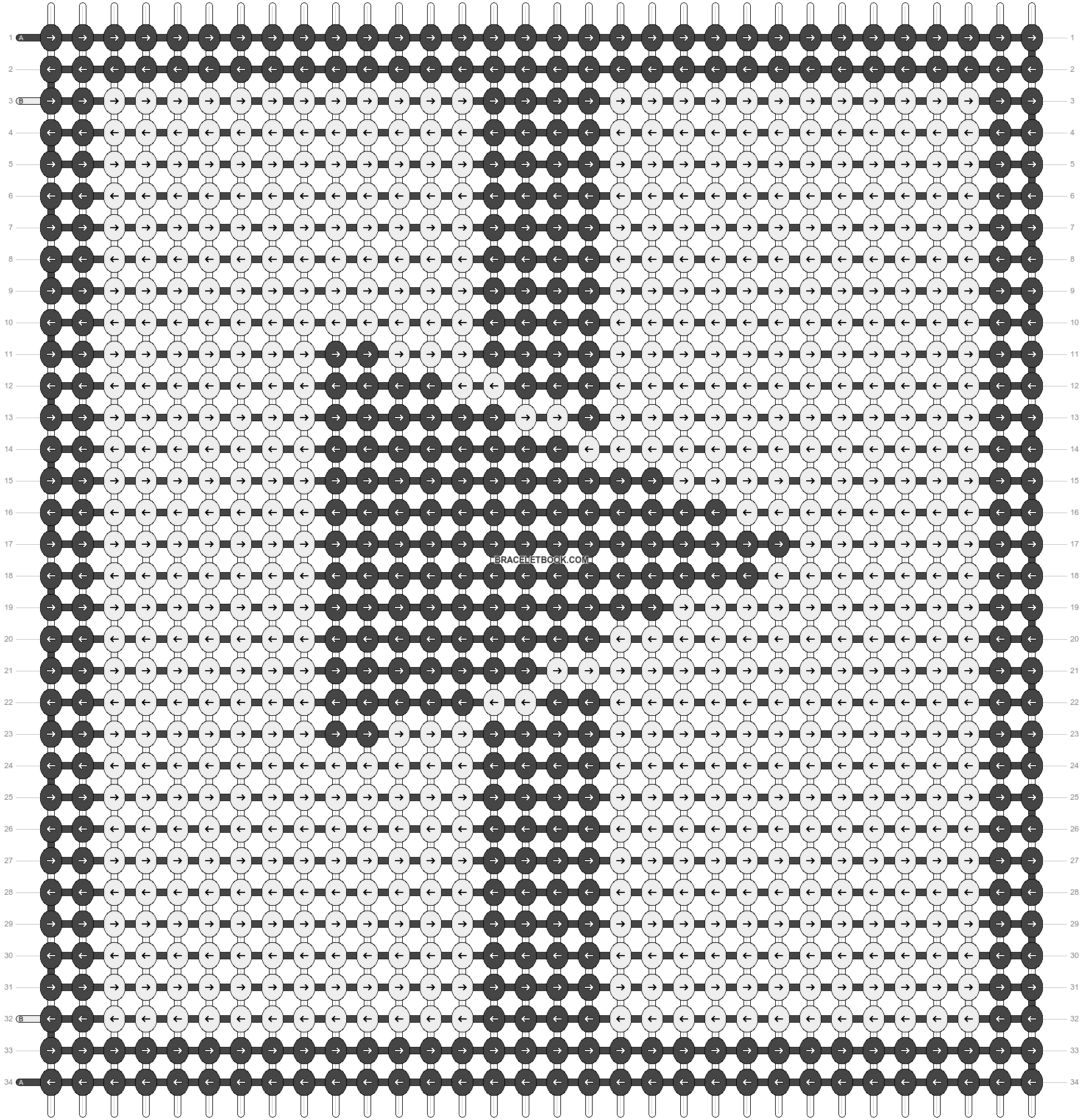 Alpha pattern #14406 pattern