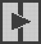 Alpha pattern #14406