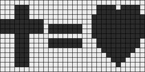 Alpha Friendship Bracelet Pattern #14409