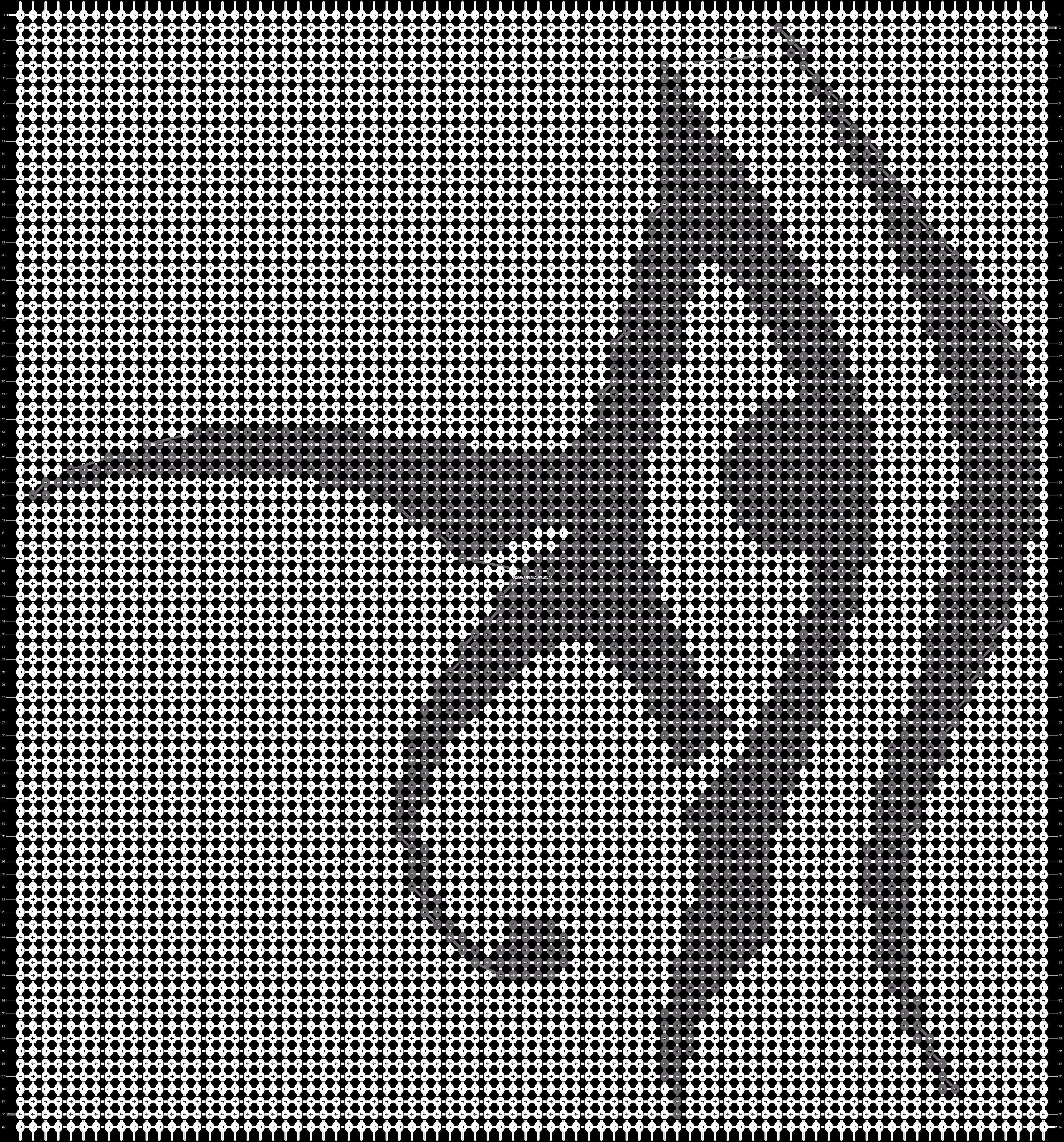 Alpha pattern #14411 pattern