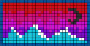 Alpha Friendship Bracelet Pattern #14414