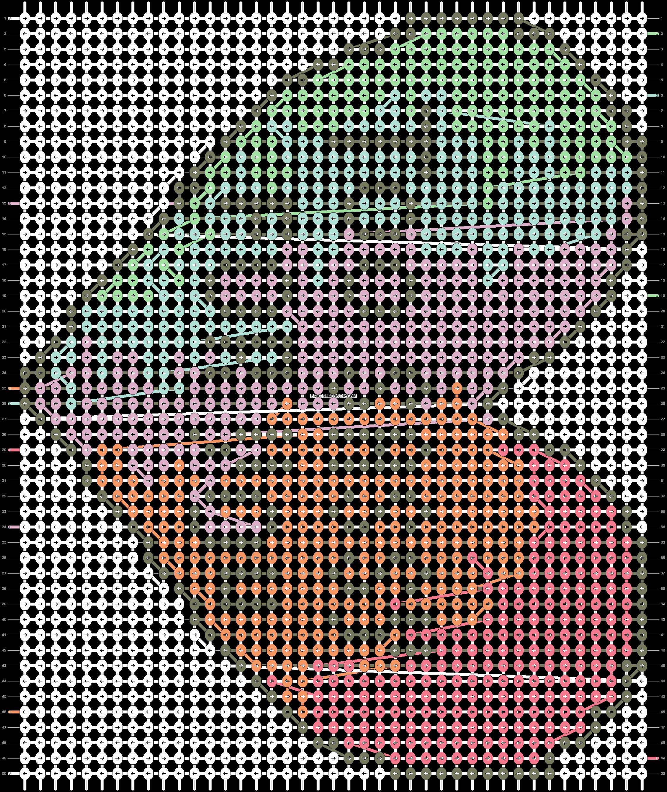 Alpha pattern #14416 pattern