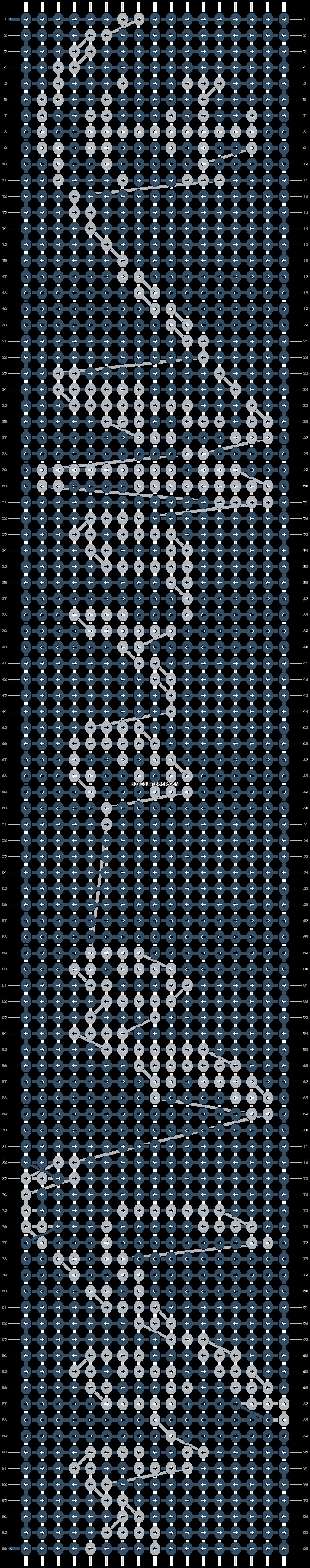 Alpha pattern #14417 pattern