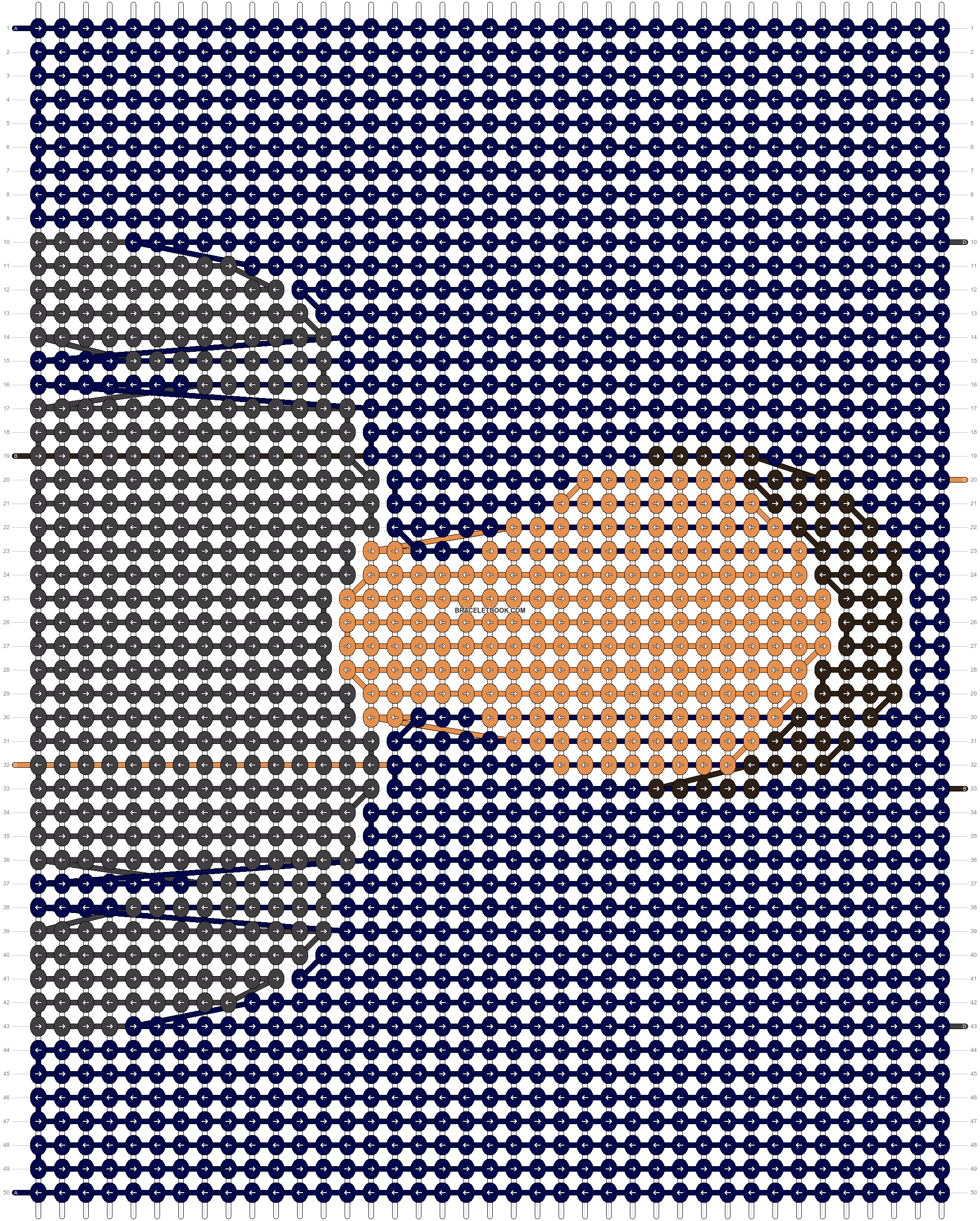 Alpha pattern #14418 pattern