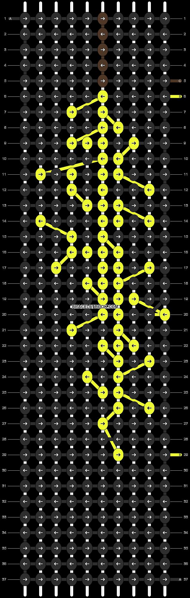 Alpha pattern #14419 pattern