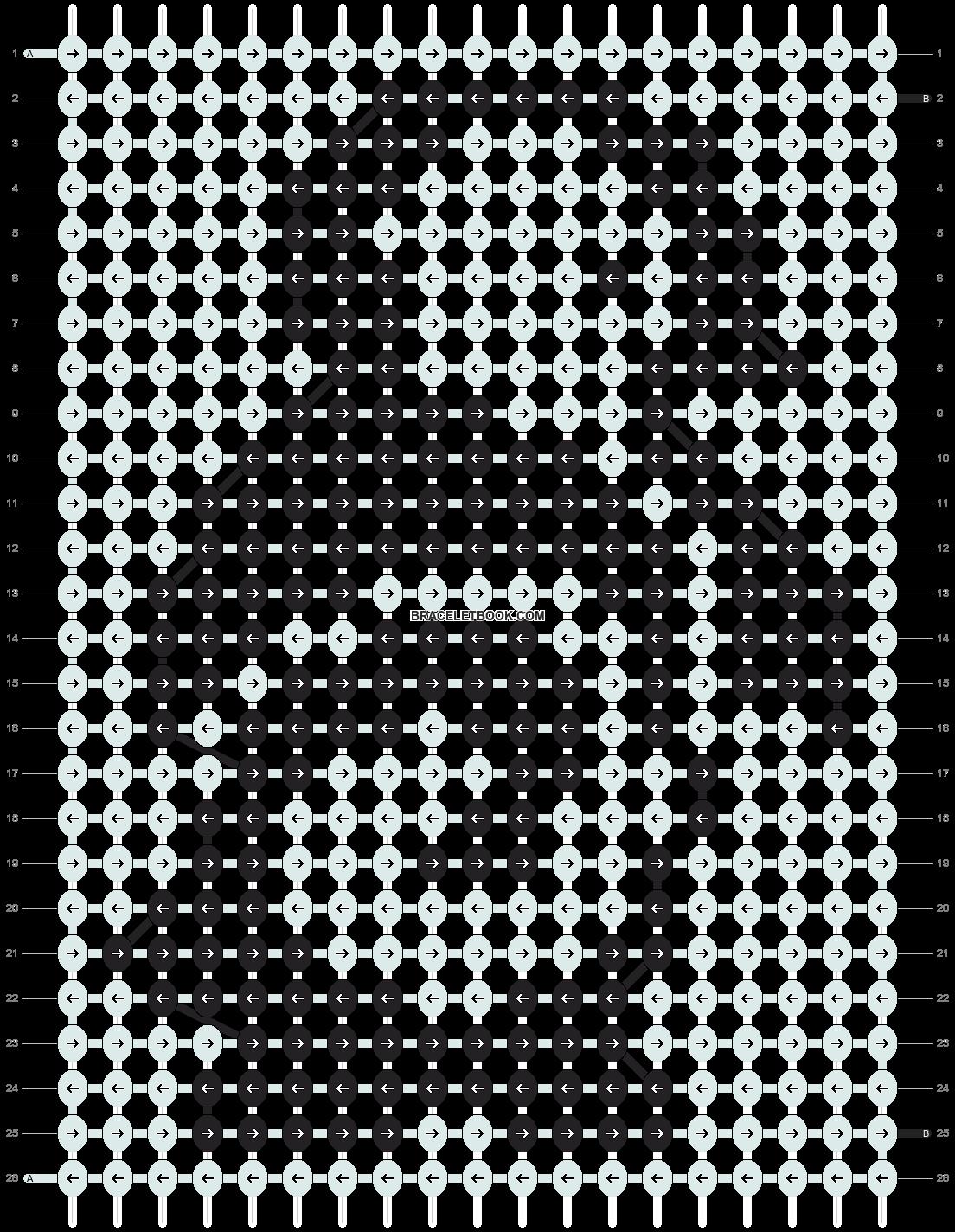 Alpha pattern #14421 pattern
