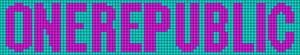 Alpha Friendship Bracelet Pattern #14428