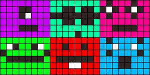 Alpha pattern #14431