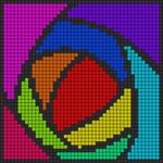 Alpha pattern #14433