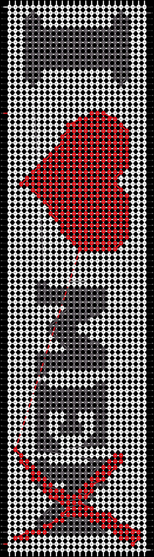 Alpha pattern #14434 pattern