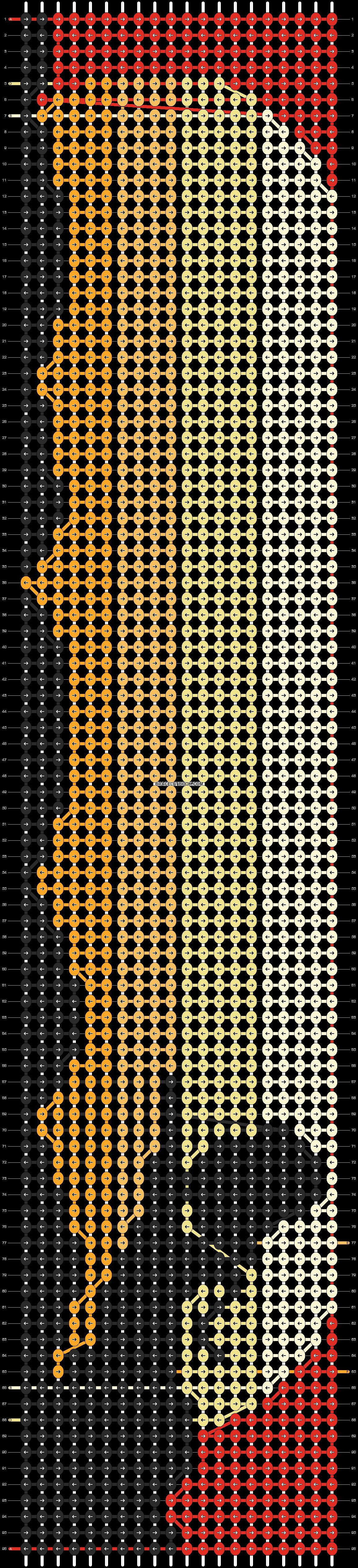Alpha pattern #14436 pattern