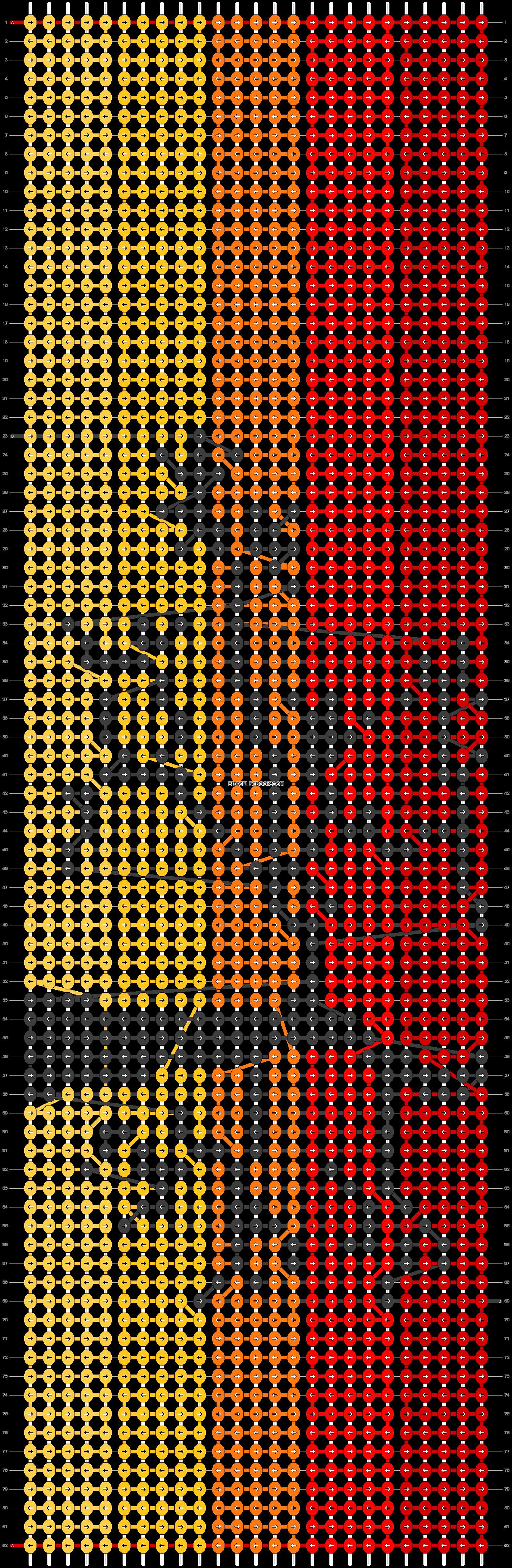 Alpha pattern #14445 pattern